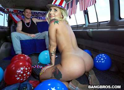 Stella Raee 4th of July Celebration on The Bus