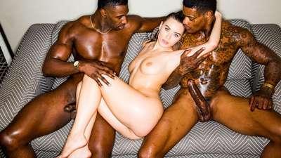 Lana Rhoades My BBC Anal Threesome Fantasy