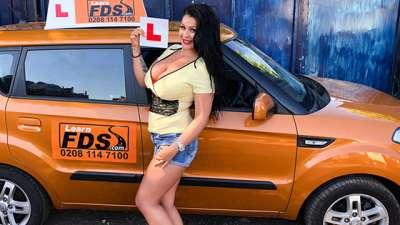 Anissa Jolie Big boobed Hungarian creampied