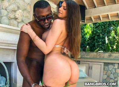 Brooklyn Chase gets a monster creampie!