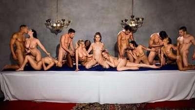 Tori Black, Mia Malkova, Vicki Chase, Kira Noir, Ana Foxxx, Abella Danger, Jessa Rhodes, Angela White After Dark Part 5