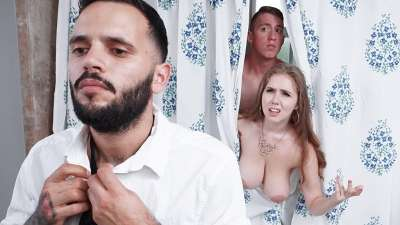 Lena Paul – Trimmed Housewife Blows Stepson