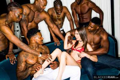 Blackedraw – Girlfriend Gangbang At The After Party