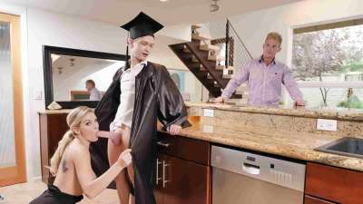 Kenzie Taylor – Cap And Gown Dick Down