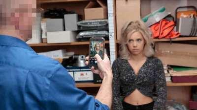 Shoplyfter Case No. 2120778 Allie Nicole Caught Stealing Porn