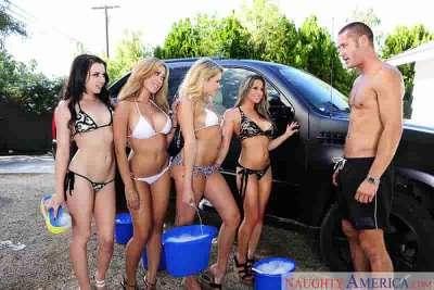 Capri Cavanni, Lexi Belle, Mia Malkova, Rachel Roxxx, Danny Mountain My Sister's Hot Friend