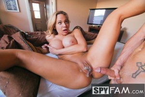 Olivia Austin Stepson Barebacks Stepmom For First Time