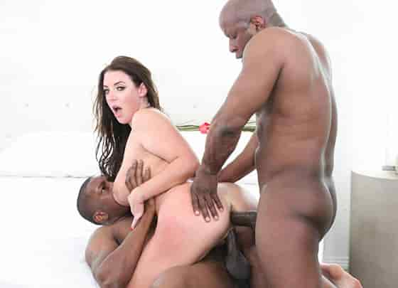Angela White Interracial Busty MILF 3Ways