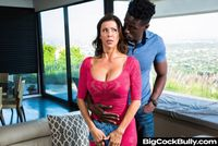 Alexis Fawx gets bullied with a big black cock