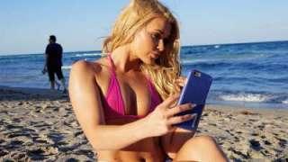 Beach Blonde's Anal Creampie