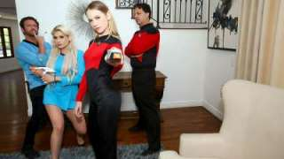 Riley Kay And Violet Storm – Live Long And Suck Sci Fi Dick