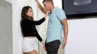 Stepsister Easing An Erection