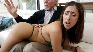 Kira Perez Kira Gets Pounded By Grandpa BangBros18