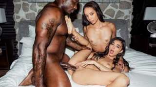 Blacked Emily Willis, Alexis Tae – Peach