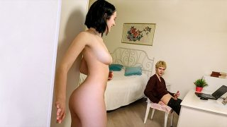 Mery House Surprise Sex with Roommate
